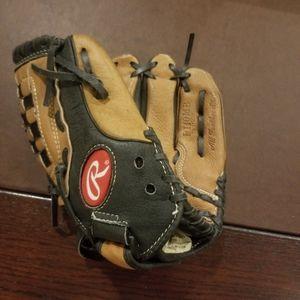 Used Rawlings kids baseball glove